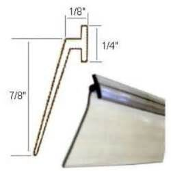 shower door sweep installation shower door seal ebay