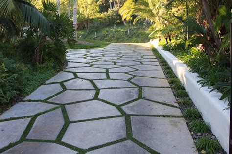 natural stone driveway natural stone with a grass divider by sc driveway ideas