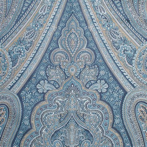 paisley pattern in french p kaufmann royal paisley french blue 54 quot fabric