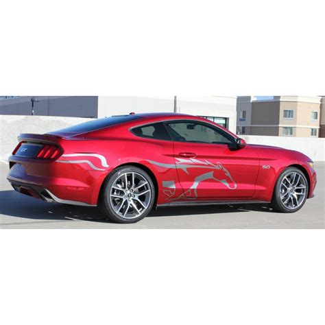 ford mustang 2015 2016 steed graphic stripe decals 3m