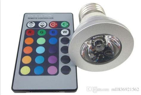 licht birne 3w e27 farbwechsel rgb led licht le birne 110 220v ir