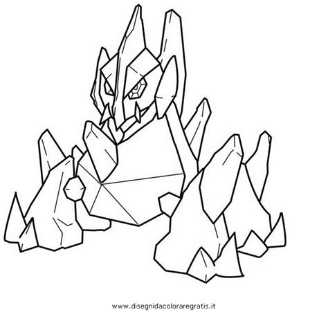 pokemon coloring pages gigalith gigalith coloring coloring pages