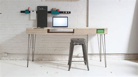 Plywood Desk Diy Plywood Desk Diy Pinterest