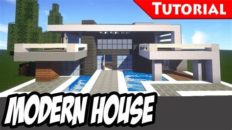 minecraft tutorial modern interior house design how to minecraft easy modern house mansion tutorial 3