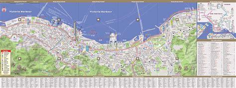 printable street map of hong kong hong kong map by vandam hong kong streetsmart map city