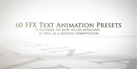layout animation presets 25 cool after effects add ons for text animator design