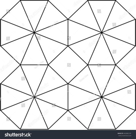 octagon pattern vector octagon pattern stock vector 462882181 shutterstock