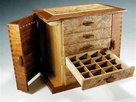 Handcrafted Wood - handmade wooden jewelry box