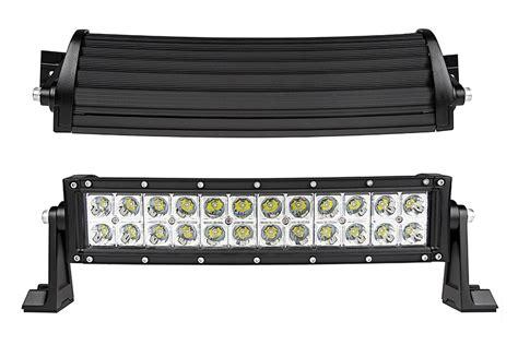 Front Led Light Bar 14 Quot Curved Road Led Light Bar 53w 5 040 Lumens Led Light Bars For Trucks