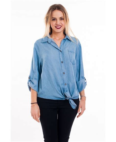 Gloria Jumbo Blouse Light Blue blouse effect 5093 light blue grossiste pret a porter