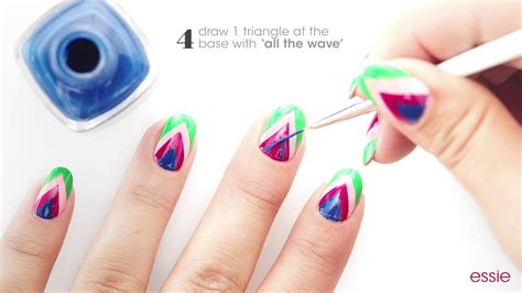 nail art tutorial essie nails on point nail art tutorial by essie youtube