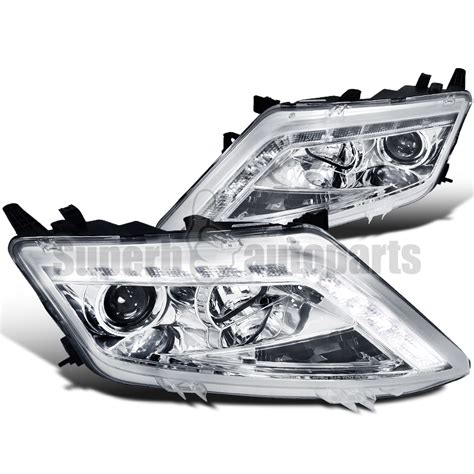 2012 ford fusion led tail lights 2010 2012 ford fusion led drl clear projector headlights