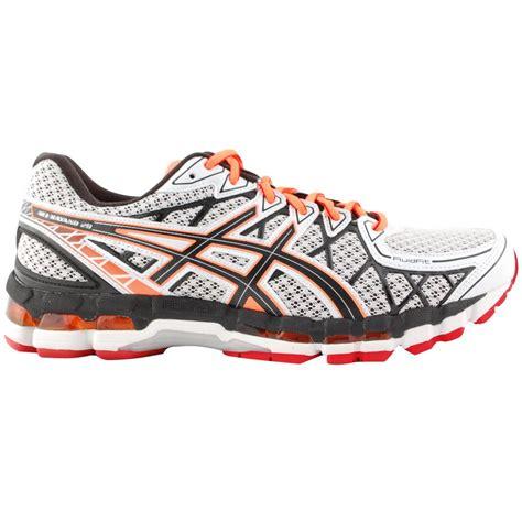 asics gel kayano 20 mens running shoes white