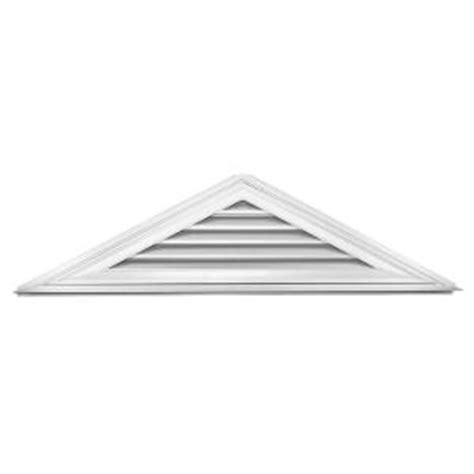 home depot paint triangles builders edge 6 12 triangle gable vent 001 white