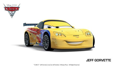 cars 2 coloring pages jeff gorvette pin jeff gorvette cars 2 cartoon wallpaper 1366x768