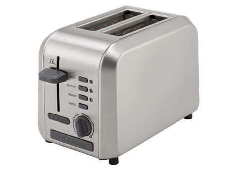 Toaster Rate Chefman 2 Slice Wide Slot Stainless Steel Rj31 Ss Toaster