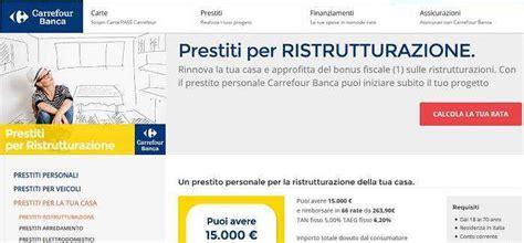 finanziamenti per ristrutturazione casa prestiti casa carrefour missione prestito