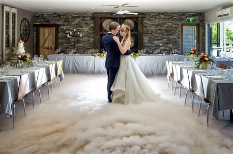 Wedding Dry Ice Melbourne   Matt Jefferies Entertainment
