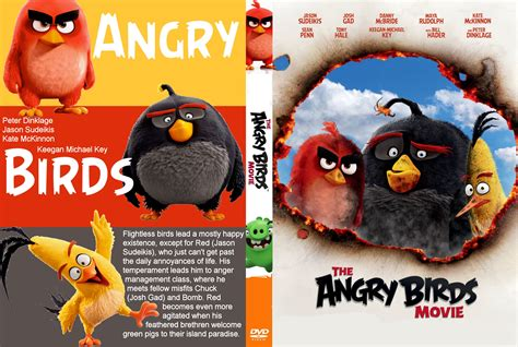the angry birds movie 2016 netflix nederland films the angry birds movie dvd cover label 2016 r0 custom
