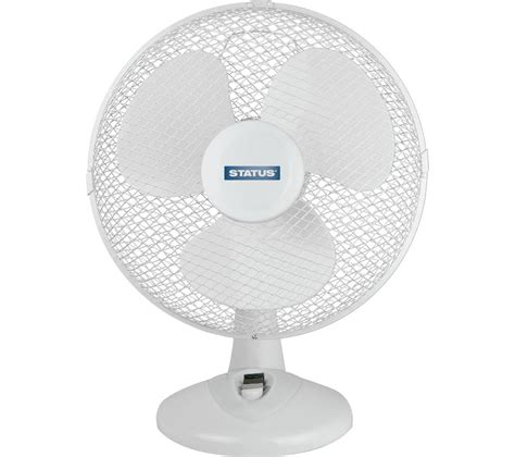 Where To Buy Desk Fans by Buy Status 12 Quot Desk Fan White Free Delivery Currys
