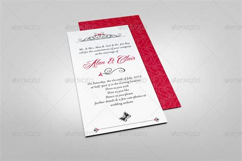 Dl Wedding Invite Templates by Dl Invitation Card Mock Up By Bagera Graphicriver