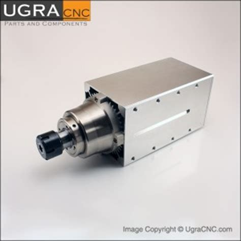 Router Gmt professional gmt spindle motor air cooled 4 5 kw 6 hp er25 cnc router mill ebay