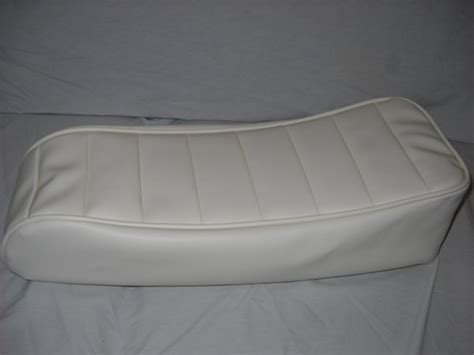 tuck n roll upholstery mini bike seat upholstery tuck n roll off white