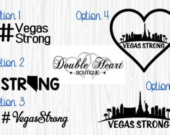 Vegas Strong Stickers