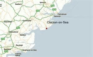clacton on sea map clacton on sea地域のガイド