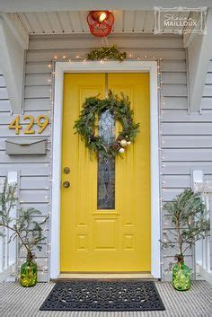 yellow  gray design  paint   exterior