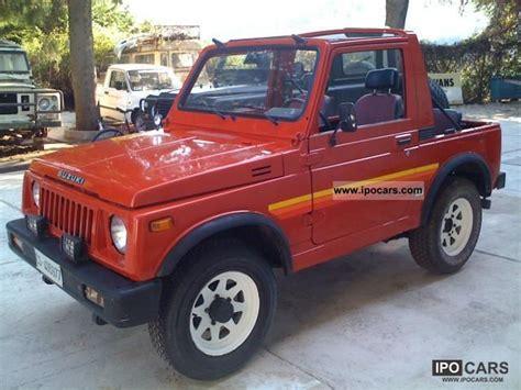 86 Suzuki Samurai 1986 Suzuki Samurai Samurai Sj Cabrio 1 0 Deluxe 86 Car