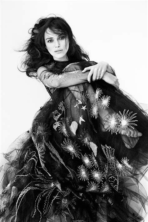 Do You Like Keira Knightly On September Vogue Cover by Keira Knightley By Demarchelier For