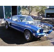 97 In 1971 1965 Mustang A/FX Drag Racer  Bring A Trailer