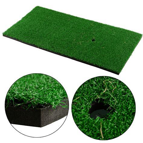 new backyard new backyard golf mat 12 x24 training practice rubber tee holder indoor cad 13
