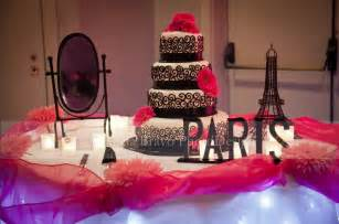 Paris Themed Quinceanera Paris Themed Quincea 241 Era Baby Cakes Pinterest