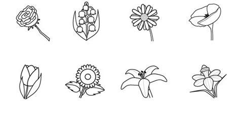 imagenes de flores para imprimir gratis dibujos de flores para pintar un tulipan para imprimir