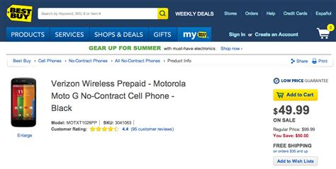 best buy moto g contract free verizon moto g now only 50 deals