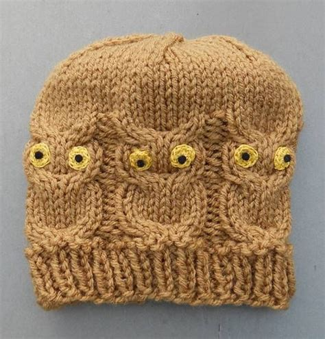 owl baby hat knitting pattern 1000 ideas about owl hat on crochet crochet