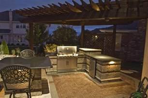 Outdoor Kitchen Lights Outdoor Kitchen Lighting 18 Essentials For A Atmosphere Interior Exterior Doors