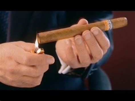 How To Light Cigar by How To Light A Cigar Using The Kel Method