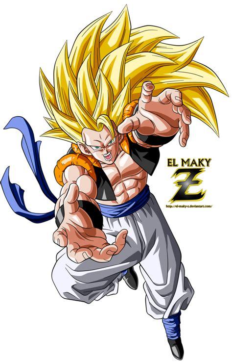 Imágenes En Goku | gogeta super saiyan 3 by el maky z on deviantart