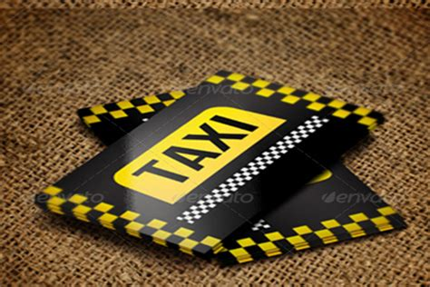 taxi name card template 25 taxi business card templates free psd sle designs