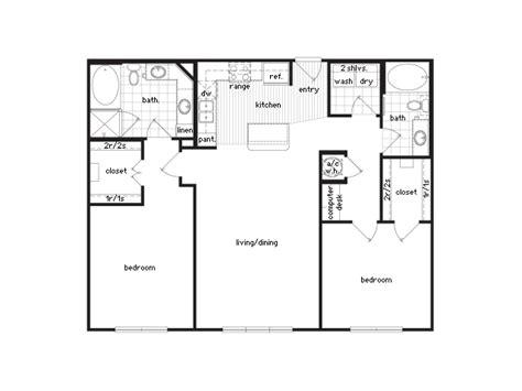 sixty floor plans   bedroom luxury apartments houston texas