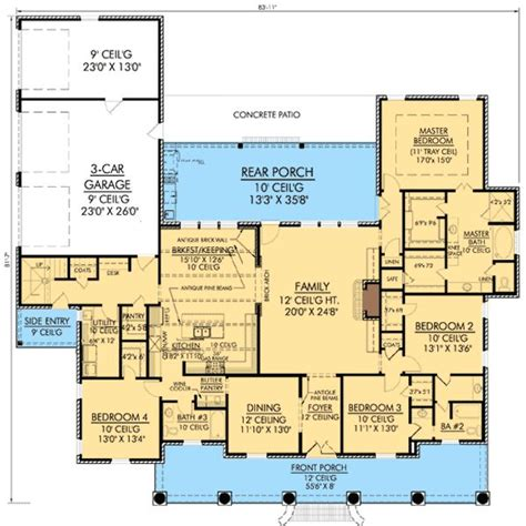 Non Open Floor Plans | 94 best images about floor plans on pinterest house