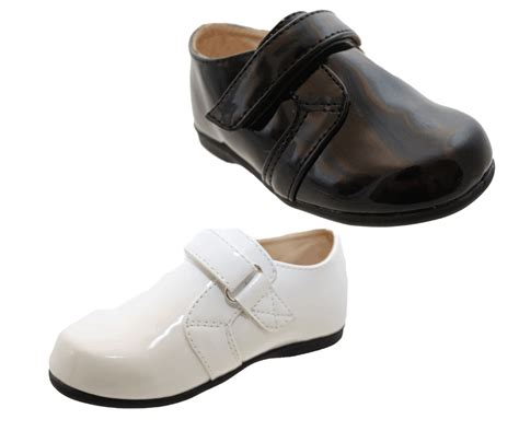 size in boy shoes infant boys wedding christening communion patent page boy