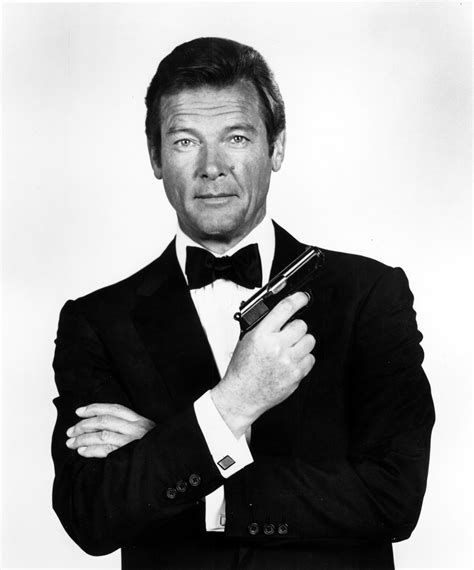 roger moore roger moore was the best james bond ever because he was