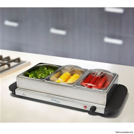 Stainless Steel Buffet Server Food Warmer Crazy Sales Stainless Steel Buffet Server