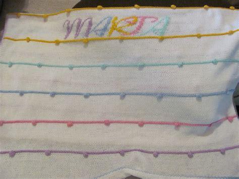 copertina cotone copertina uncinetto neonata cotone righe bambini per