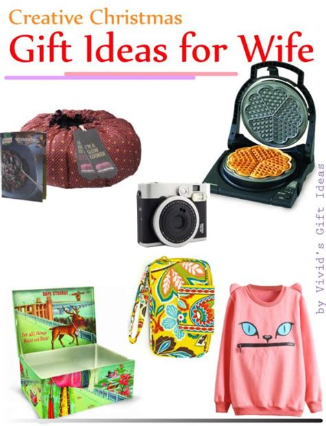 gift ideas wife 7 creative christmas gift ideas for wife vivid s