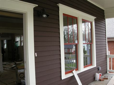 exterior window painting siding ontario park bungalow